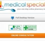Medical Specialists® Pharmacy Mobile Website goes live…before quickly crashing!