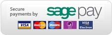 Secure payment through Sagepay